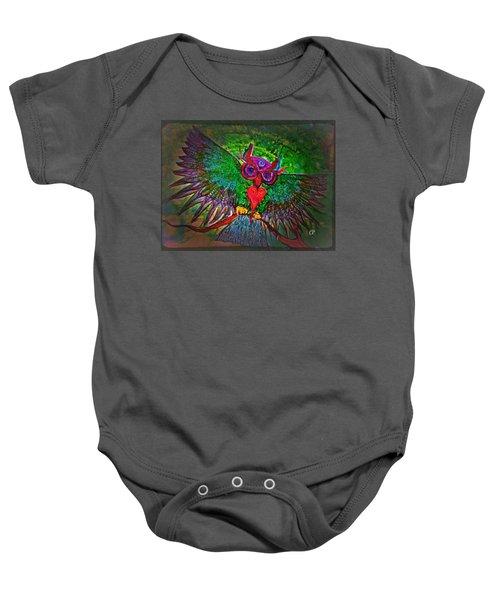 Ss Owl Baby Onesie