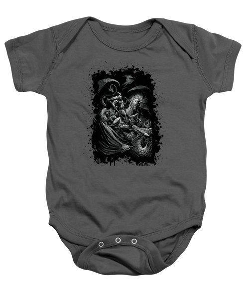 St. George And Dragon T-shirt Baby Onesie