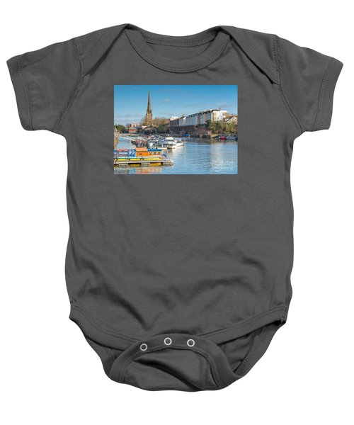 St Mary Redcliffe Church, Bristol Baby Onesie