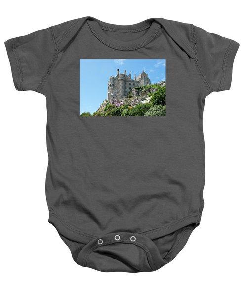 St Michael's Mount Castle Baby Onesie