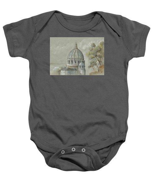 St Peter's Basilica Rome Baby Onesie