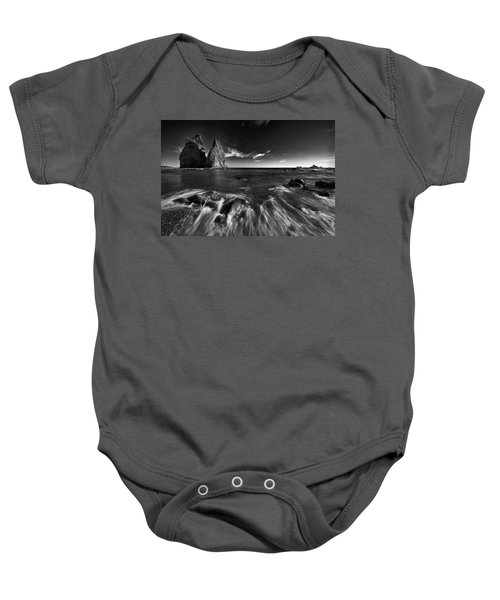 Stacks In Olympic Baby Onesie by Jon Glaser