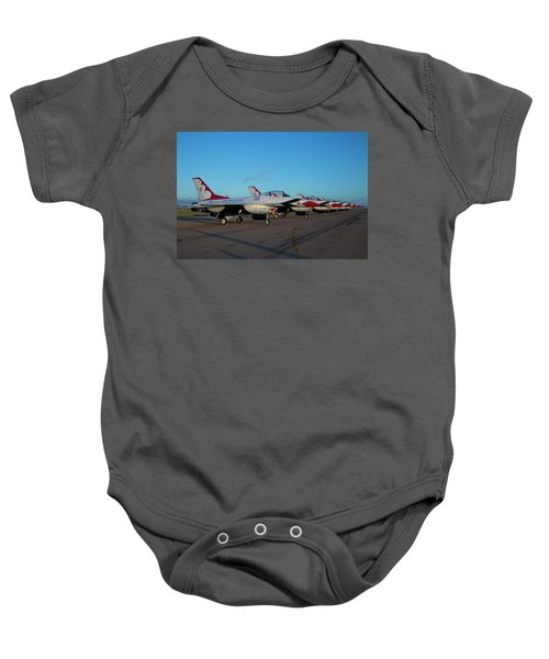 Standing In Formation Baby Onesie