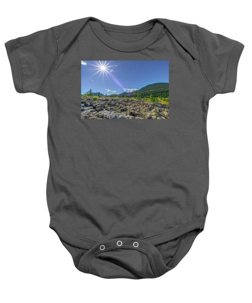 Star Over Creek Bed Rocky Mountain National Park Colorado Baby Onesie