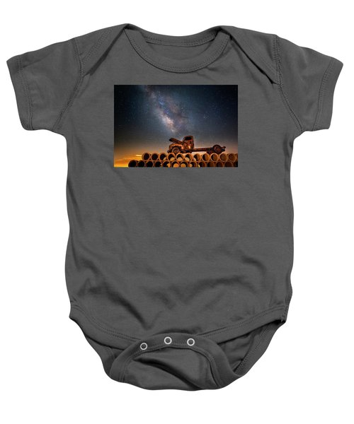 Star Struck Truck  Baby Onesie