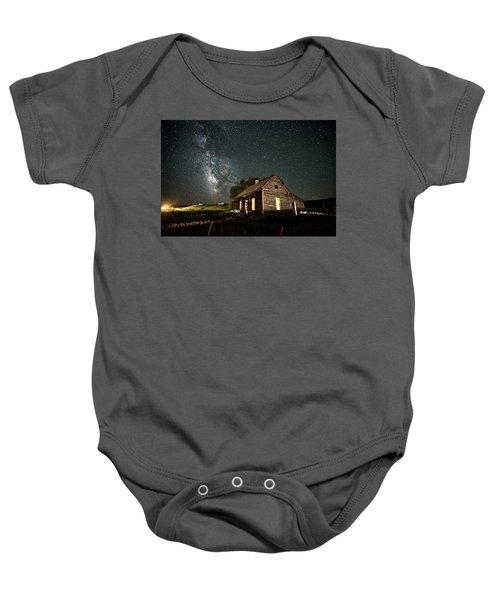 Star Valley Cabin Baby Onesie