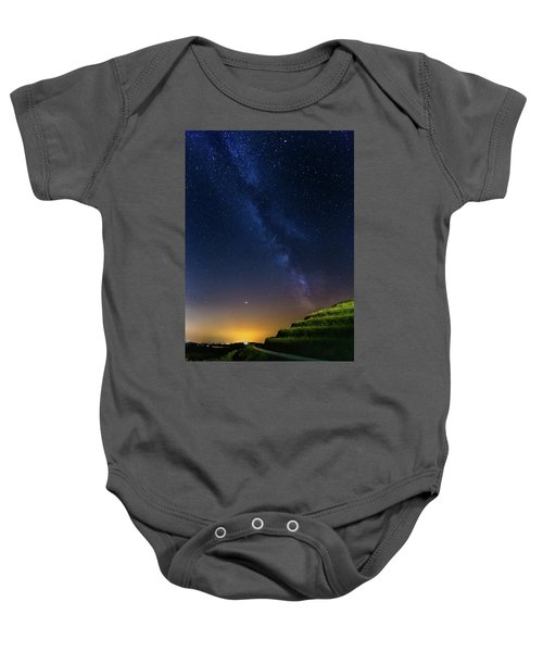 Starry Sky Above Me Baby Onesie