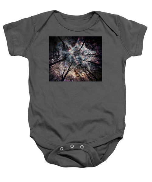 Starry Sky In The Forest Baby Onesie
