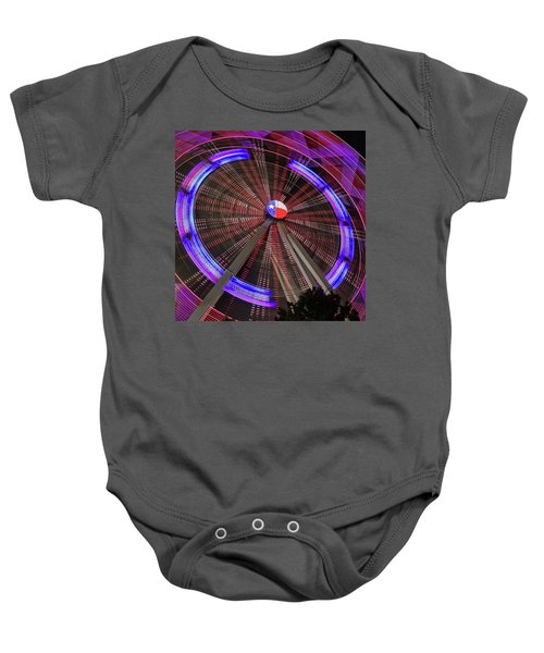 State Fair Of Texas Ferris Wheel Baby Onesie