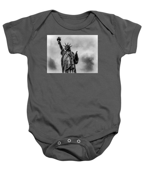Statue Of Liberty Photograph Baby Onesie