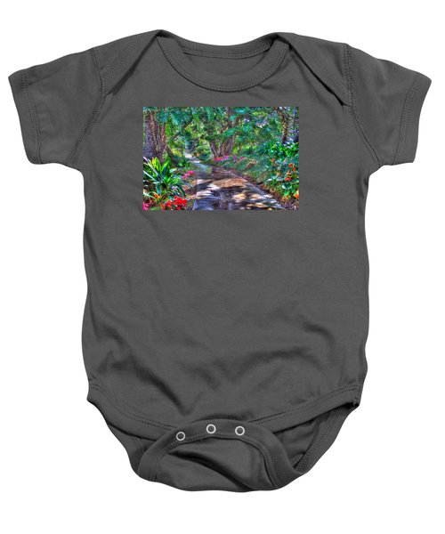 Stay On Your Path Baby Onesie