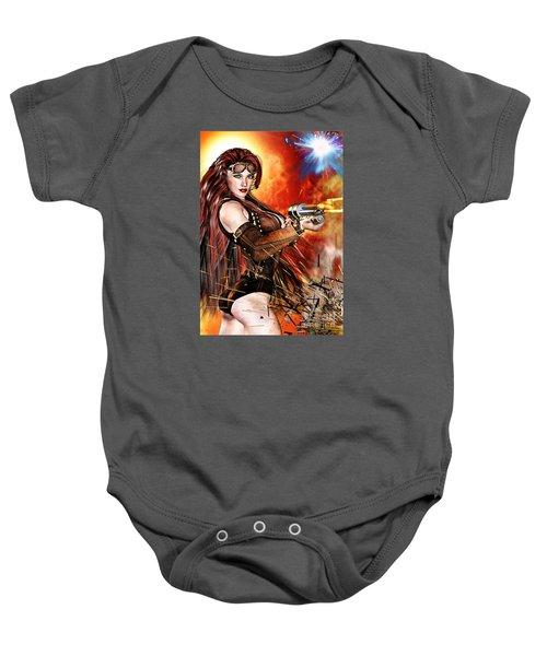 Steampunk Apocalypse Baby Onesie