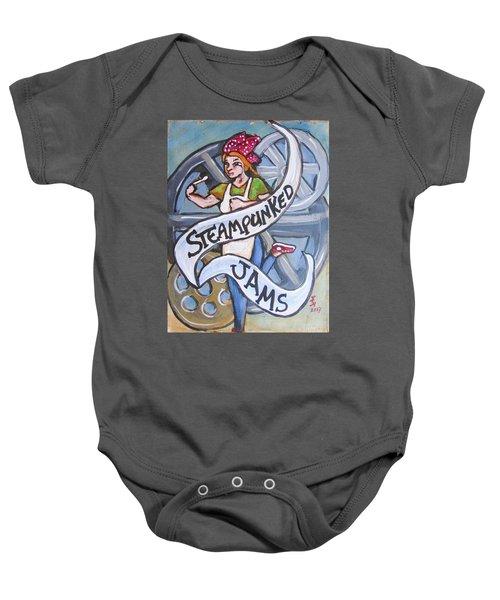 Steampunked Jams Baby Onesie