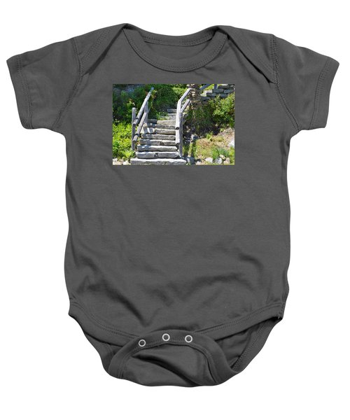 Stepping Up Baby Onesie
