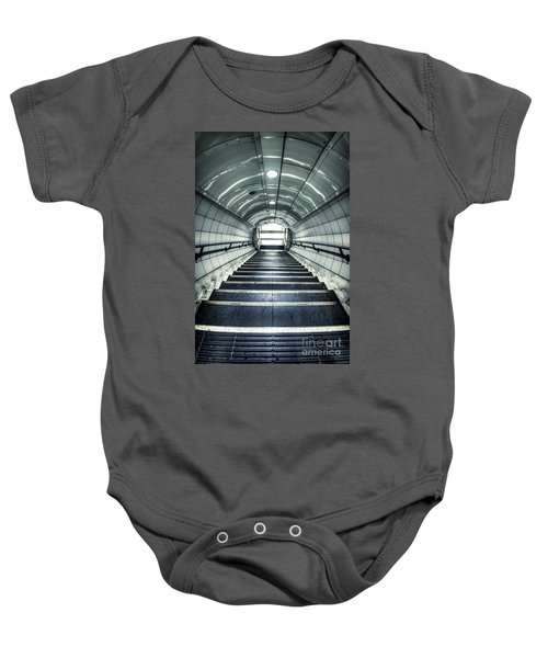 Steppings Tones Baby Onesie by Evelina Kremsdorf