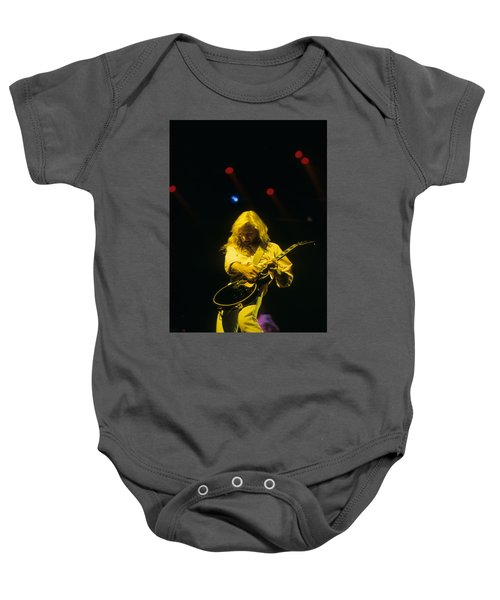 Steve Clark Baby Onesie by Rich Fuscia