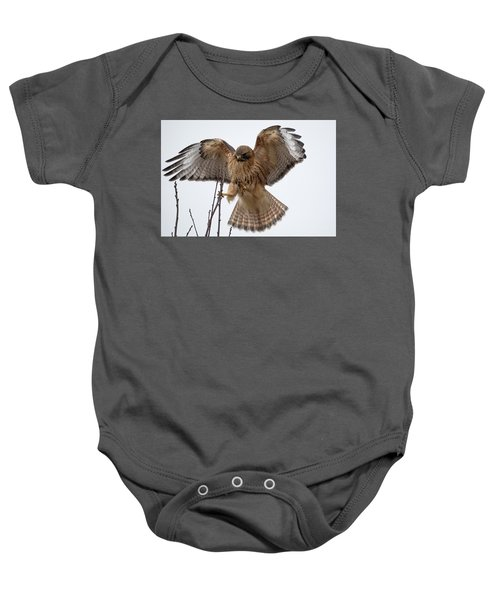 Stick The Landing Baby Onesie