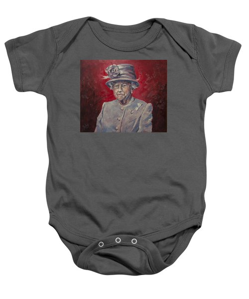 Stiff Your Upperlip And Carry On Baby Onesie