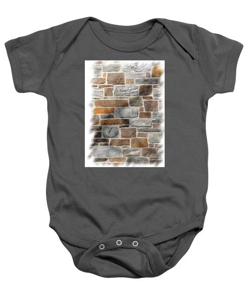Stone Wall Baby Onesie