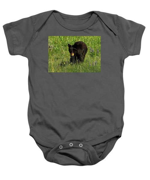 Stopping To Smell The Flowers Baby Onesie
