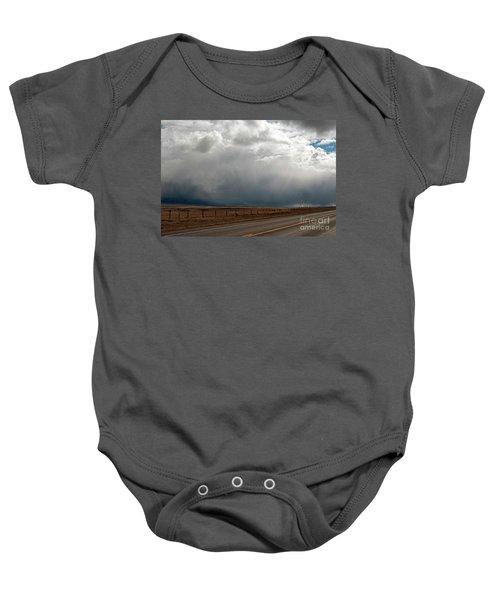 Storm On Route 287 N Of Ennis Mt Baby Onesie