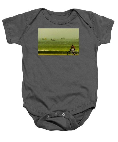 Storm Rider Baby Onesie