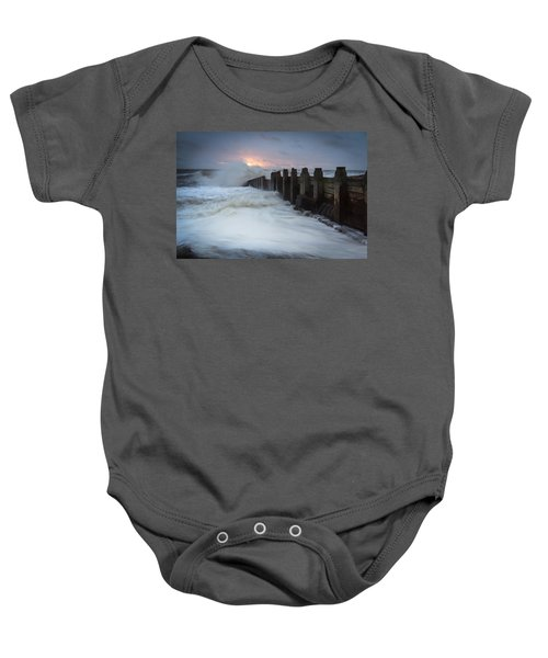 Stormy Morning Baby Onesie