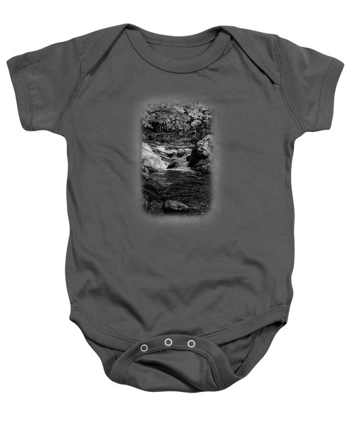 Stream In Autumn No.18 Baby Onesie
