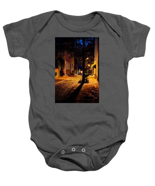 Street In Olde Town Philadelphia Baby Onesie