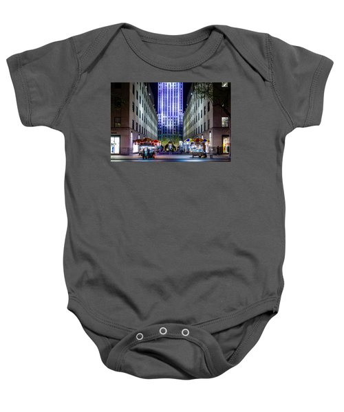 Rockefeller Center Baby Onesie