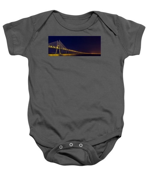 Stretching Into Infinity Baby Onesie