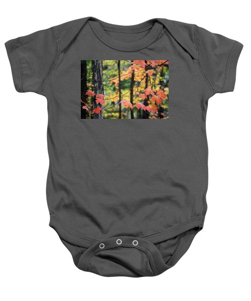Stringing Up The Colors Baby Onesie