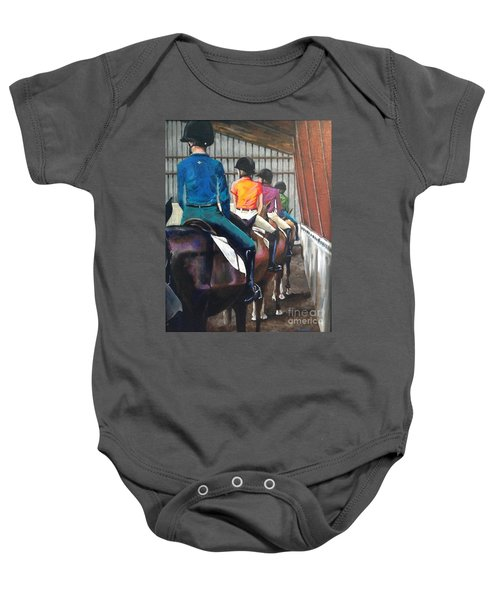 Students Learning Baby Onesie