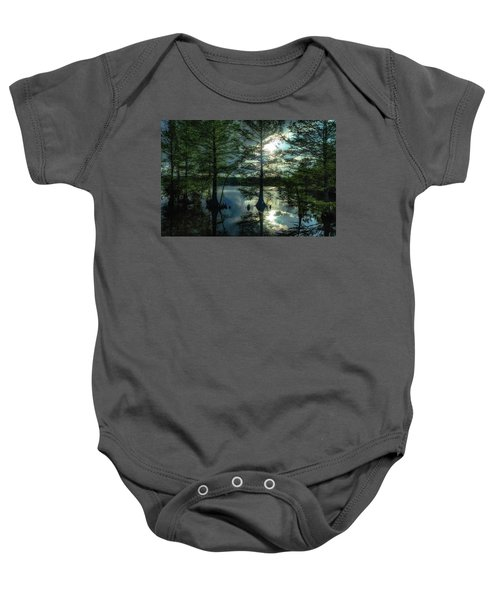 Stumpy Lake Baby Onesie