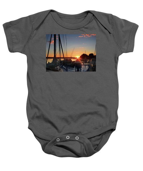 Sturgeon Bay Sunset Baby Onesie
