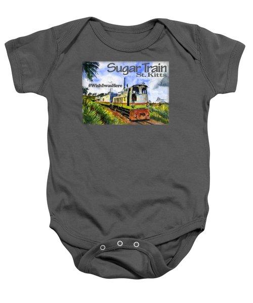 Sugar Train St. Kitts Shirt Baby Onesie
