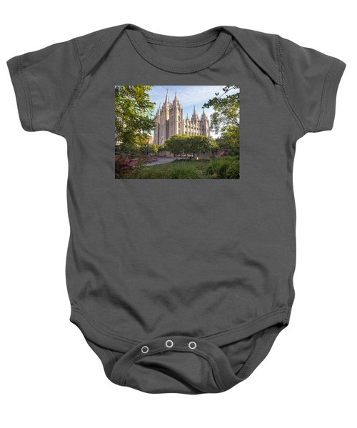Summer At Temple Square Baby Onesie