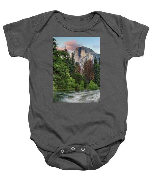 Summer Half Dome  Baby Onesie