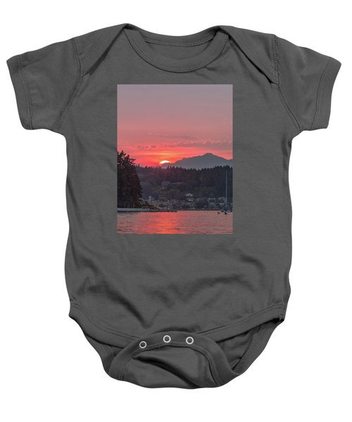 Summer Sunset Over Yukon Harbor.4 Baby Onesie