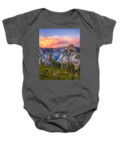 Baby Onesie featuring the photograph Summer Sunset by Vincent Bonafede