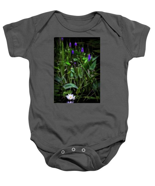 Baby Onesie featuring the photograph Summer Swamp 2017 by Bill Wakeley