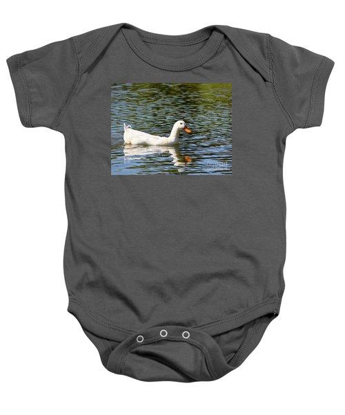 Summer Swim Baby Onesie