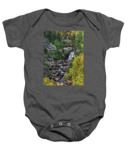Summer Waterfall Baby Onesie