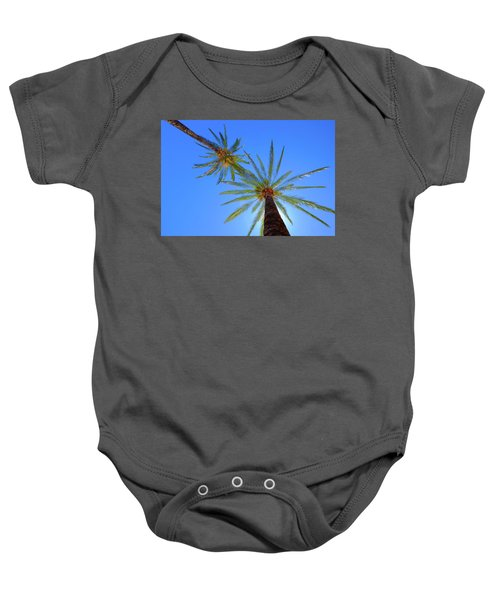 Sun Bed View Baby Onesie