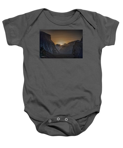 Sunburst Yosemite Baby Onesie by Bill Roberts