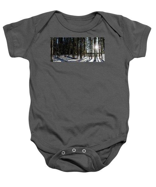 Sundial Forest Baby Onesie