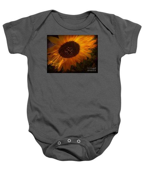 Sunflower Baby Onesie