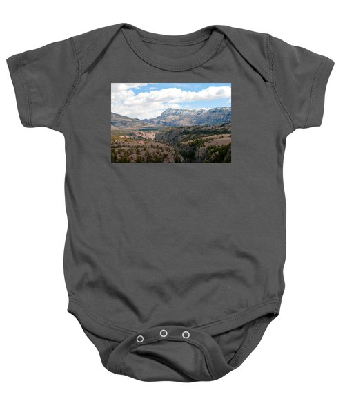 Sunlight Creek Of Wy Baby Onesie