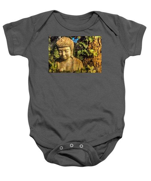 Sunlit Buddha 2015 Baby Onesie