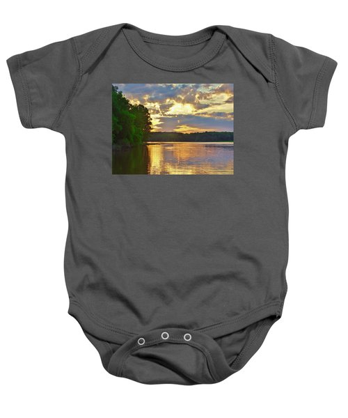 Sunrise At The Landing Baby Onesie